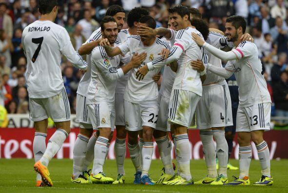 Real Madrid derrotó 2-0 al Malaga en un partido en el que pudo hacer más...
