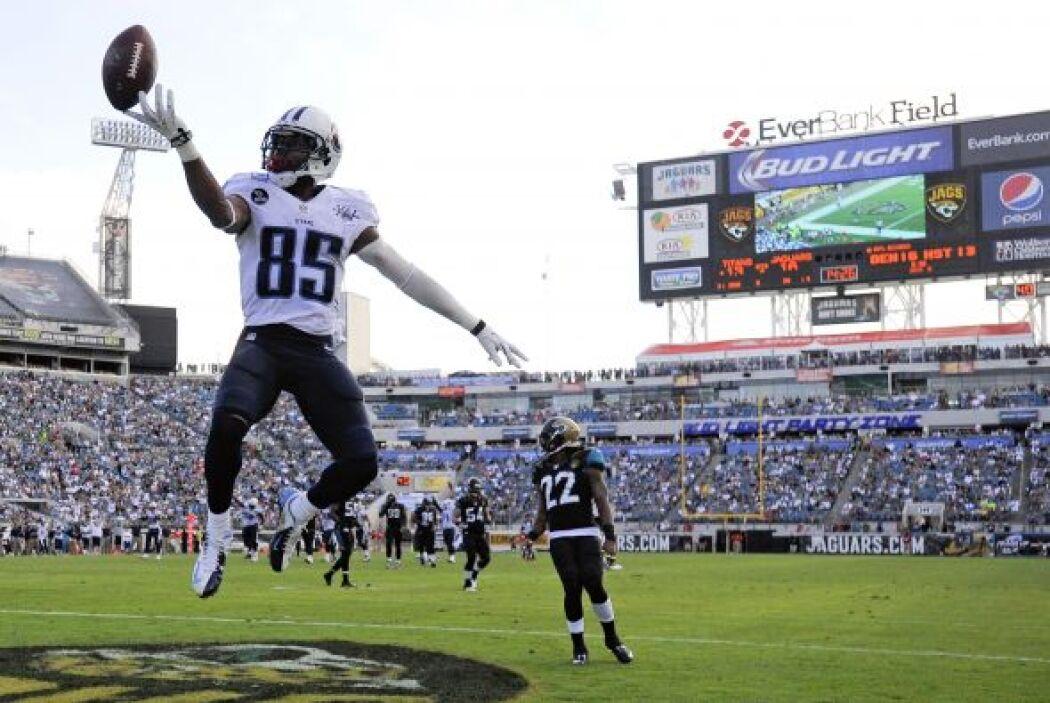31. Tennessee Titans. Porcentaje de triunfos de sus rivales: .438 (AP-NFL).