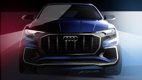 Audi mostró el primer render de lo que será su nuevo Q8 Co...