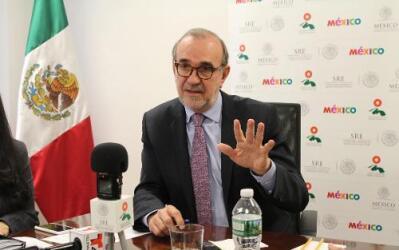 Carlos Sada, embajador de México en Estados Unidos.
