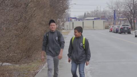 Aceptan como refugiados a los hermanos menores de edad de Guatemala que...