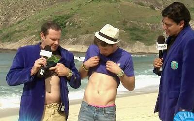 ¿Quién tiene mejor abdomen William o Alan?