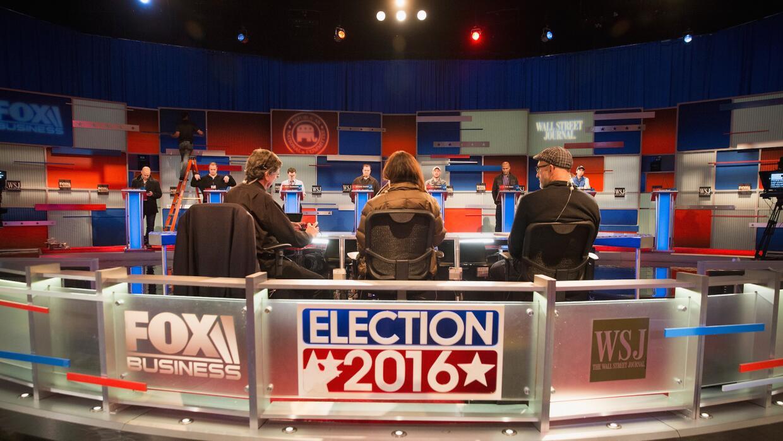 Preparando el cuarto debate republicano en Millwaukee