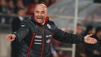 El estratega de la selección chilena criticó el arbitraje del Chile vs....