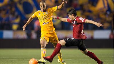 Tijuana consiguió el empate 1 - 1 en su visita a los Tigres