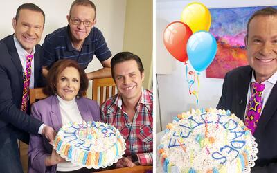 Alan Tacher organizó su propia fiesta de cumpleaños y celebró sus 46 pri...
