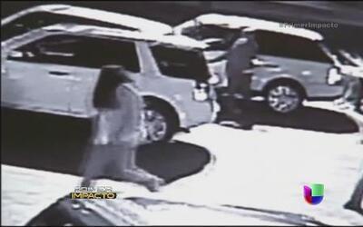 Captaron en video un robo masivo de autos
