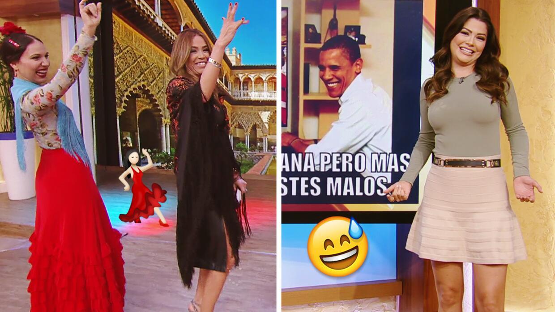 #DAEnUnMinuto: Karla aprendió a bailar flamenco, y los chistes de Ana le...