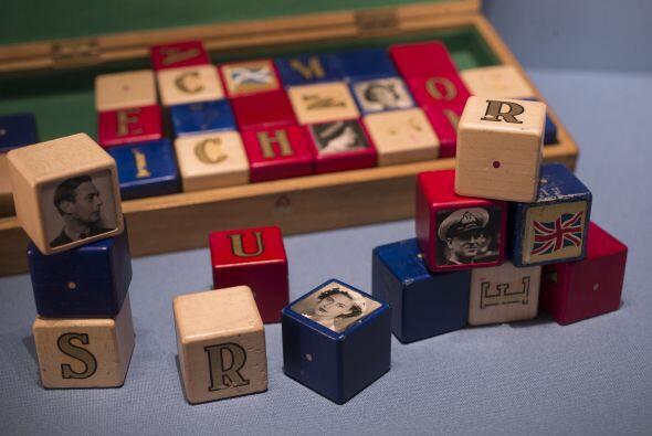 ¿Qué príncipe o rey habrá jugado con estos cubos?