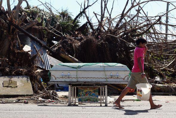 El gobierno filipino desestimó las cifras ofrecidas por Naciones Unidas...