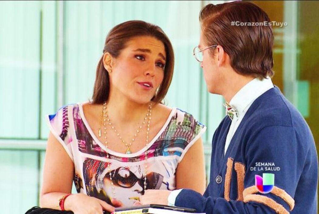 Ya no sabemos qué pensar Nando, Ximena ahora está muy enamorada de ti.