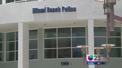 Escándalo por fotos en Dpto. Policía de Miami Beach