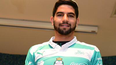 Diego de Buen, jugador de Santos