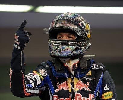 GP de ABU DABHI, 14 de noviembreSebastian Vettel ganó la carrera...