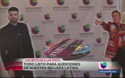 Ya está todo listo para las audiciones de Nuestra Belleza Latina