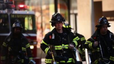 La falta de minorías en los departamentos de bomberos de Estados Unidos...