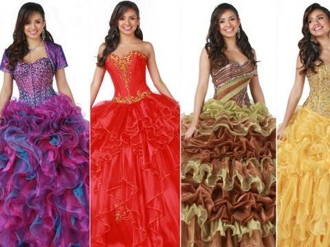 Disney Royal Ball, que comprende una serie de vestidos de XV años...