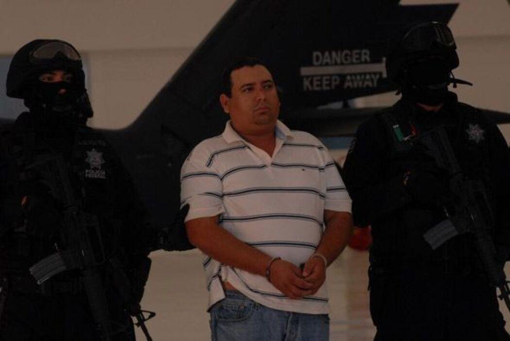 El 25 de marzo de 2010 la policía capturó a José Antonio Medina, 'Don Pe...