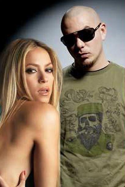 Shakira también ha tenido a Pitbull como compañero. ¿Te suena el tema 'G...