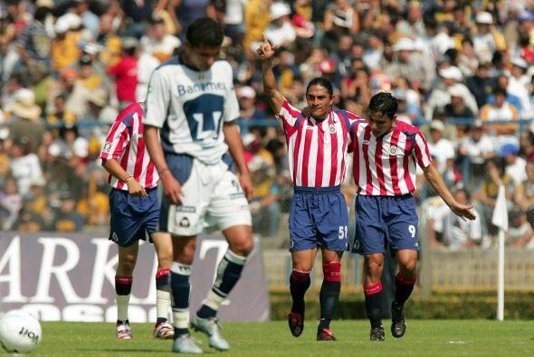 Luego del título en el Clausura 2004, tras la serie de penales, Universi...
