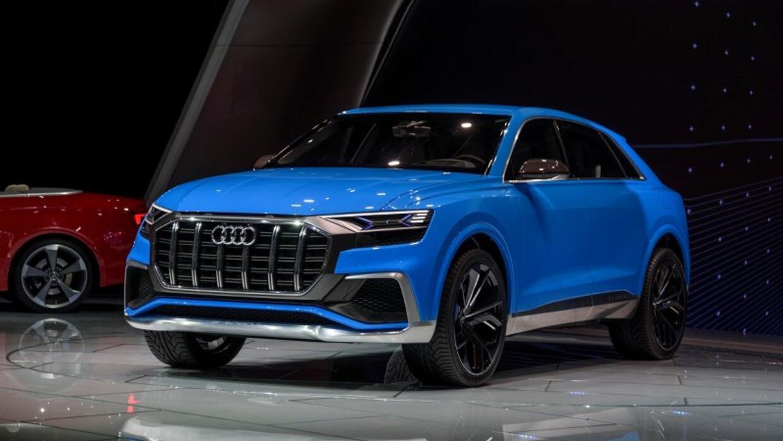 Audi presentó en el Auto Show de Detroit la Q8 Concept