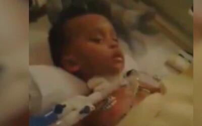 Hospital desconecta a niño de 2 años en contra de la voluntad de la familia
