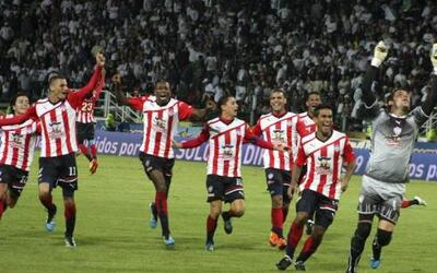 Atlético Junior conquistó en Manizales su séptimo título de Liga en Colo...
