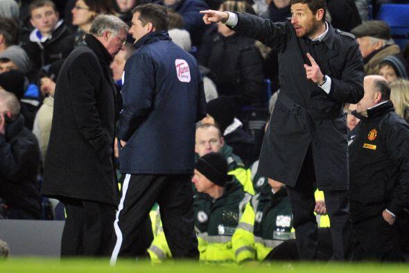 Villas-Boas, entrenador del Chelsea, no podía creer que su equipo...