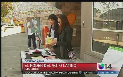 Esfuerzos por motivar a votantes latinos
