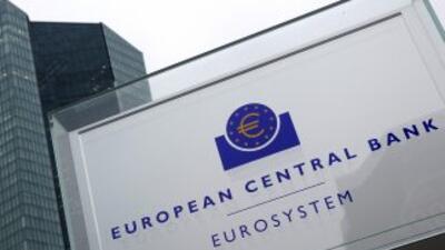 La sede del El Banco Central Europeo (BCE) en Frankfurt, Alemania.
