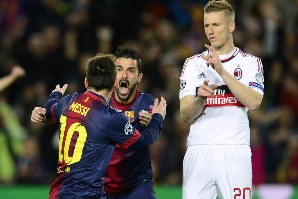 Imparable, el balón se coló en la escuadra y el Barcelona celebraba pronto.