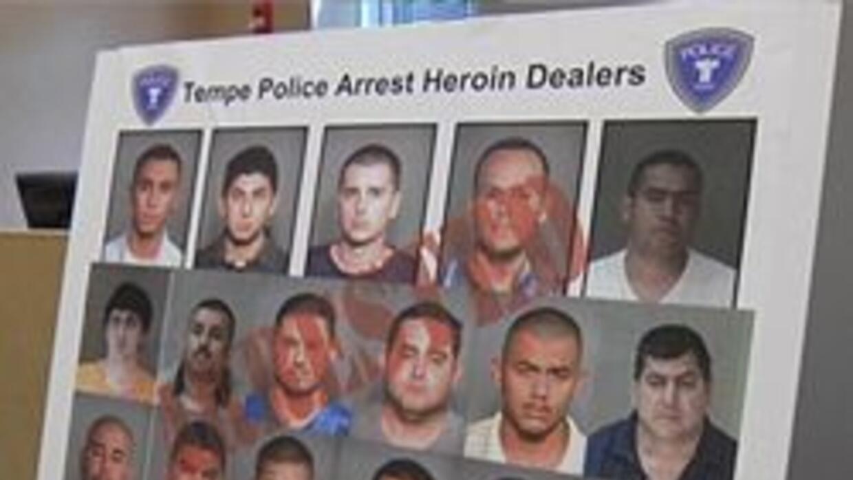 Parte de las 40 personas arrestadas