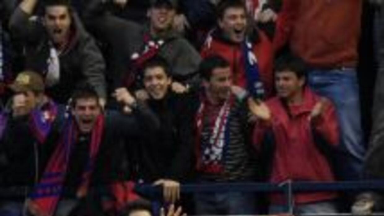 Kike Sola hizio el gol del triunfo del Osasuna.
