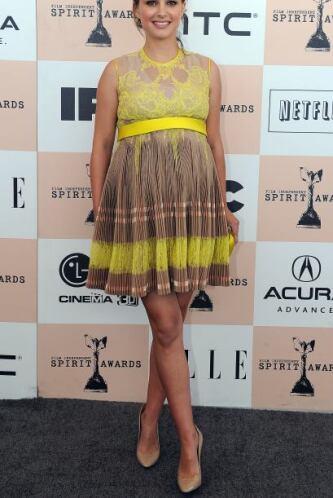 Natalie Portman nos tiene acostumbrados a verla muy delgada y con su pan...