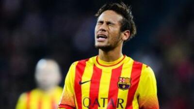 Neymar y compañía dieron, por segundo partido en fila, una pobre imagen,...
