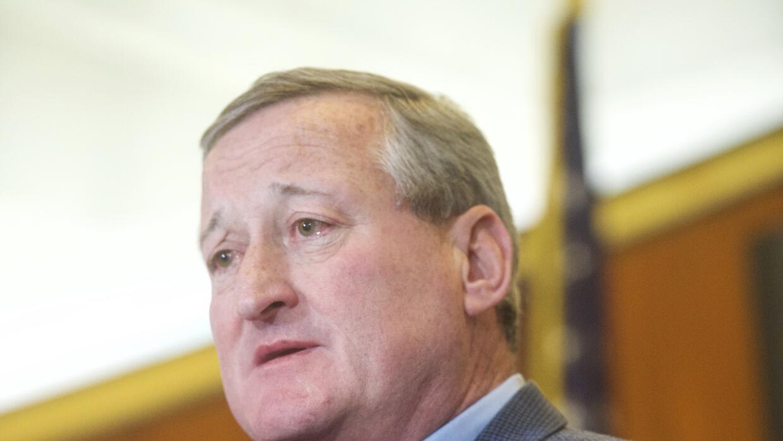 El alcalde de Filadelfia, Jim Kenney.