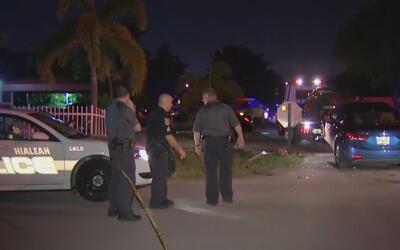 Investigan accidente entre dos vehículos que deja al menos un herido en...