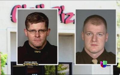 Una pareja cometió un atroz crimen en contra de dos policías en Las Vegas