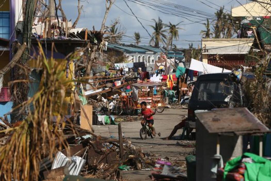El pasado viernes, un tifón con vientos sostenidos de 139 millas por hor...