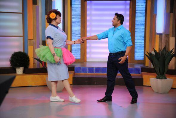 Finalmente, llegó el momento romántico con un tango.