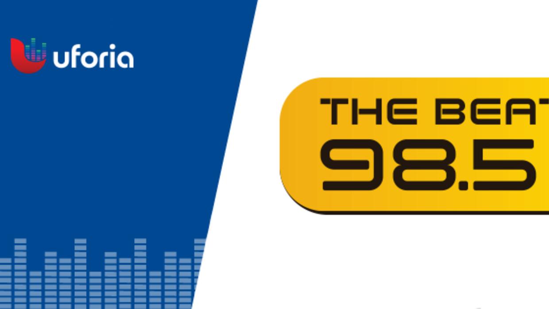 98.5 The Beat Header