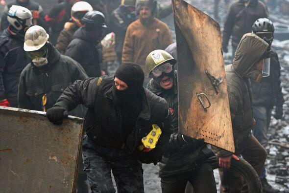 El 17 de febrero Rusia ofreció reanudar los pagos del plan de rescate fi...