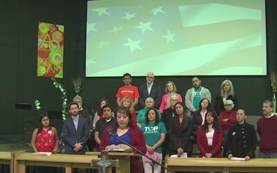 Representantes de organizaciones proinmigrantes inauguraron campaña 'Jun...