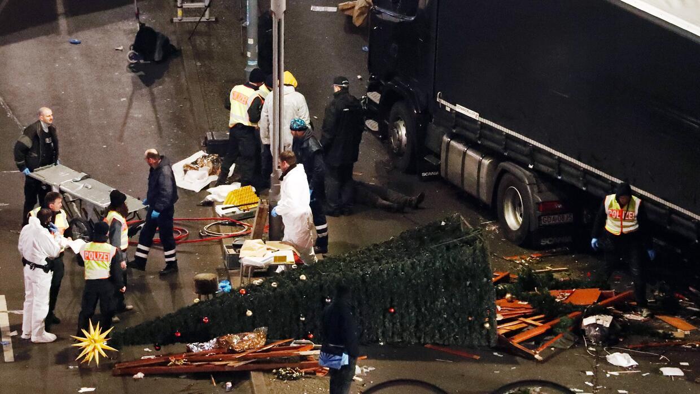 Ya suman 12 muertos y casi 50 heridos tras ataque terrorista en Berlín