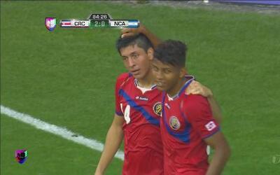 Victoria de Costa Rica ante Nicaragua 3-0 en su debut en la Copa Centroa...