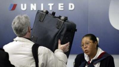 Un pasajero en el aeropuerto internacional de Chicago