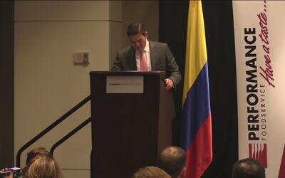 El Embajador de Colombia visita Atlanta