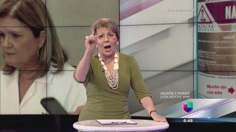 Actriz y panelista de Los 6 de la Tarde (Univision Puerto Rico)