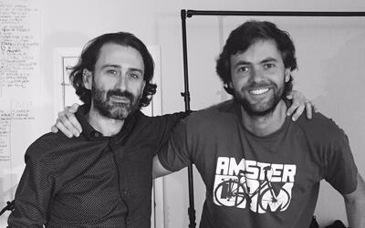 U-LAB's co-creative directors Javier Limón and Nacho Gonzá...