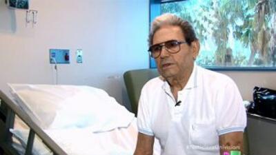 Tras sufrir un infarto, Carlos Pérezasegura que no podía caminar ni una...